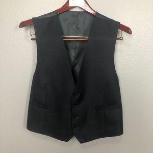 Calvin Klein Suit Jacket & Vest - Size 44 …